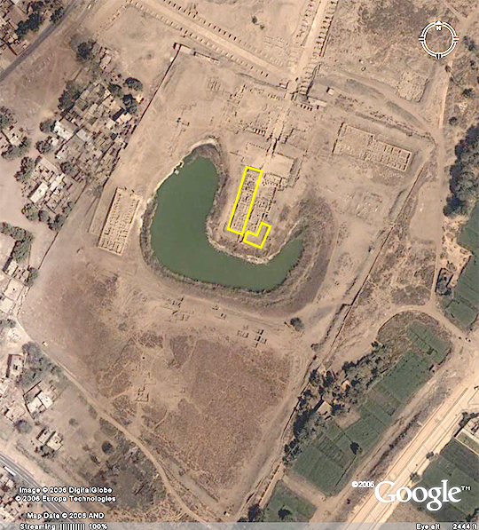 Satellite view of Mut Precinct