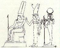 Amun, Mut and Khonsu